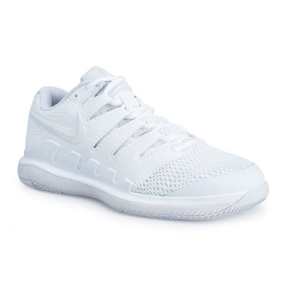 NIKE Women's Air Zoom Vapor X HC Tennis Shoes B00R7WCNG8 10 B(M) US|White