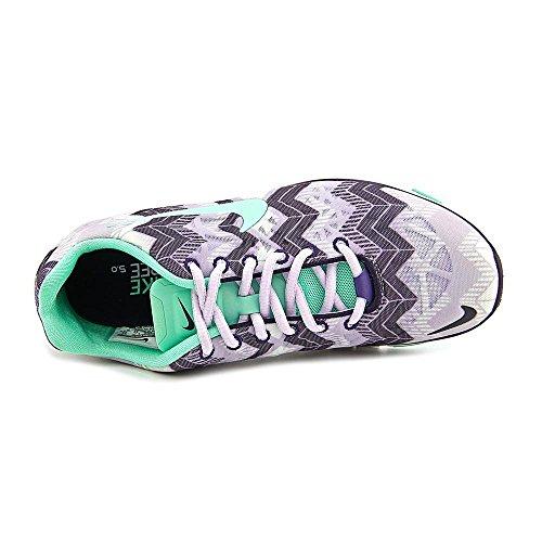 Nike - Zapatillas para deportes de exterior para mujer Multicolor Frost Green Purple UK / US / EU womens gris - Grey/Purple