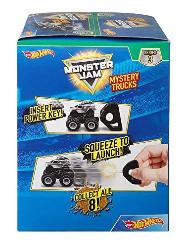 Truck Wheels Mini Hot (Hot Wheels Monster Jam Mighty Minis Blind Pack, Styles May Vary)