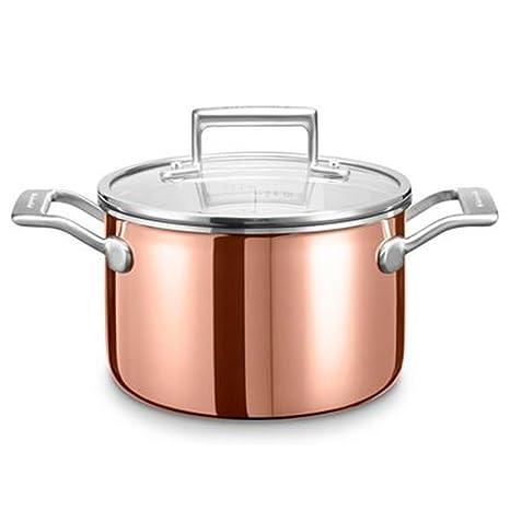 Kitchenaid KC2P30EHCP Olla sopera Copper Colour Aluminio, Cobre, Acero Inoxidable - Ollas soperas (