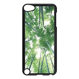 LZHCASE Design Phone Case Bamboo For Ipod Touch 5 [Pattern-1]