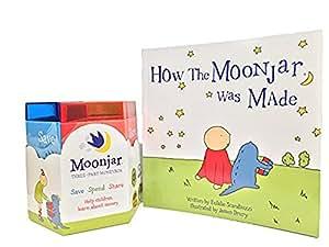 Moonjar Classic Moneybox: Save, Spend, Share with Bonus Moonjar Book