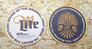 Miller Lite I'm Ready For Another Round... 24 Beer Bar Pub Coasters New