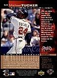 1997 Upper Deck # 524 Michael Tucker Atlanta Braves