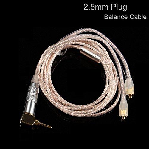 ed Cable 4 Pole MMCX Removable for Shure SE 215 · SE 425 · SE 535 · SE 846 · UE 900 S etc (Mmcx Plug)