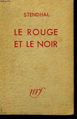 Le Rouge Et Le Noir [Pdf/ePub] eBook