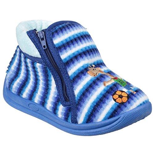 Mirak Safari Slippers Blue Size 18
