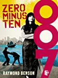 Front cover for the book Zero Minus Ten by Raymond Benson