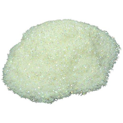 Premium 1 Oz WHITE DIAMOND GLITTER Mica Pigment Powder Liqui