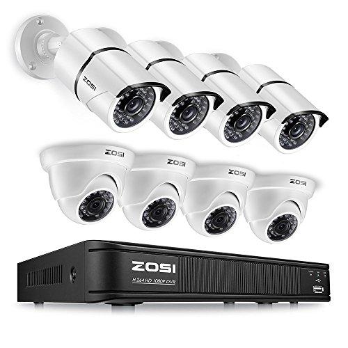 ZOSI 1080p HD-TVI Home