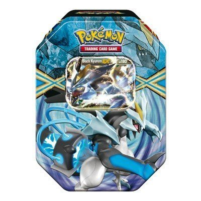 Pokemon TCG Card Game 2013 Spring EX Tin Black Kyurem