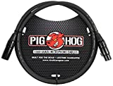 Pig Hog PHM3 High Performance 8mm XLR Microphone Cable, 3 feet