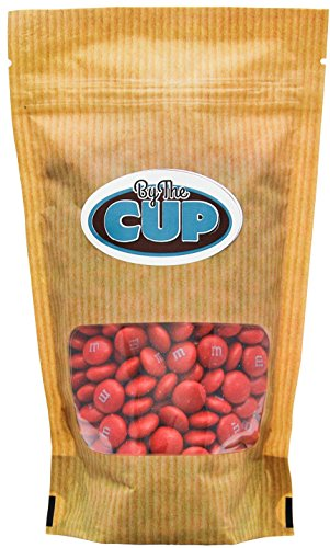 Red Milk Chocolate M&M's Candy (1 Pound Bag)