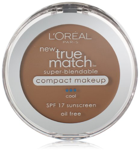 L'Oreal Paris True Match Super-Blendable Compact Makeup, Soft Sable, 0.3 oz.