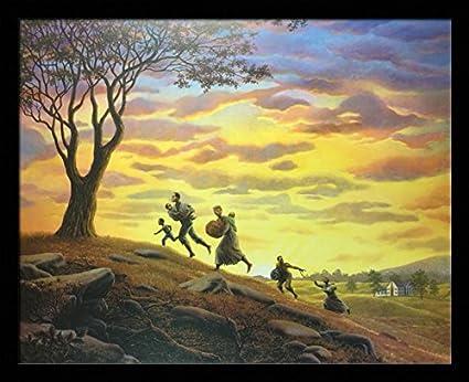 Amazon.com: US Art Escape At Dawn (Harriet Tubman - Black History ...