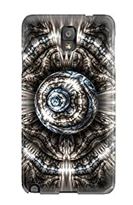 Galaxy Note 3 Shapes Abstract Print High Quality Tpu Gel Frame Case Cover