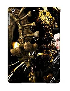 Crooningrose 34351311188 Case Cover Ipad Air Protective Case Alice American Mcgees Skulls Mage Staff Games Fantasy Dark Skull ( Best Gift For Friends) wangjiang maoyi by lolosakes