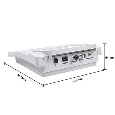 S SMAUTOP Medidor de pH de laboratorio 0.01 Precisión de pH Calibración automática de dos puntos Medidor de pH Prueba digital de calidad del agua: Amazon.es: Industria, empresas y ciencia