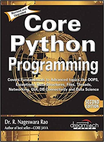 Buy Core Python Programming Book Online At Low Prices In India