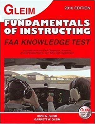 Fundamental Of Instruction Faa Knowledge Test Irvin N Gleim