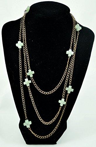 Jade Beaded Necklace - 7
