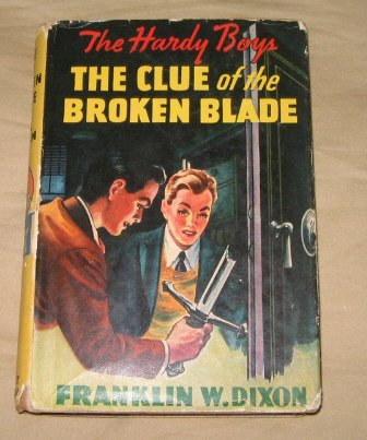 The Clue of the Broken Blade Hardy Boys Mystery Franklin Dixon #21 with d/j 1942 vintage