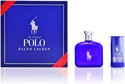 Ralph Lauren Polo Blue Set de Regalo - 2 Piezas: Amazon.es: Belleza