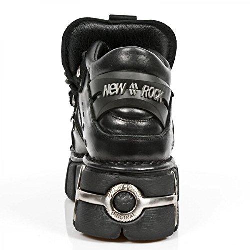 New Rock Boots M.121-c1 Gotico Hardrock Punk Unisex Stiefelette Schwarz