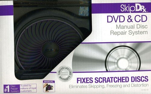 SkipDr DVD and CD Manual Disc Repair System