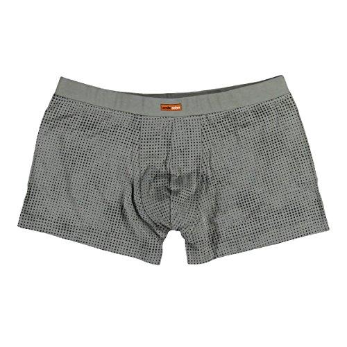 emilio adani Herren Boxershorts, 23914, Grau