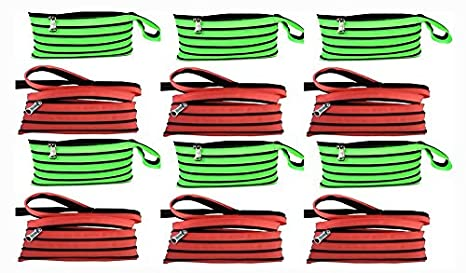 Jiada Set of 12 Rkb Zipper Pouches - Just Zip It Up and Pencil Case Party Favours at amazon