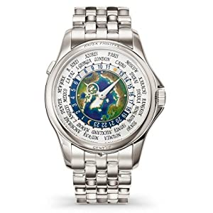 51Ss1Hr2V1L. SS300  - Patek Philippe Camplication World Time Platinum Watch 5131/1P-001