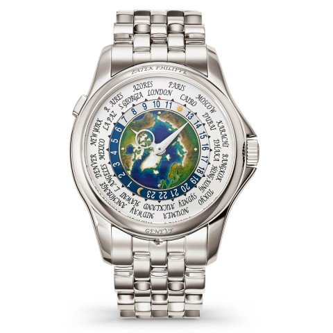 Patek Philippe Camplication World Time Platinum Watch 5131/1P-001