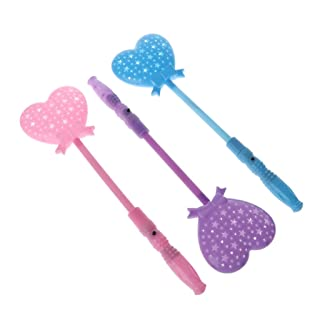 only y Solo y New Heart a Forma di Light Up Sticks Magic Wand Fairy Light Projection Kids Toy