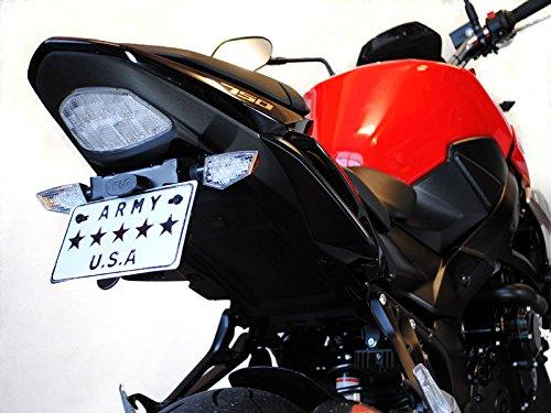 Jeu de 4 Qualit/é Led Clignotants Moto Norme E Streetfighter Design Carbone 2 Paires