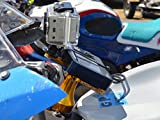 MOTO-D Motorcycle Camera Mount Blue (includes GoPro Tripod Adapter)