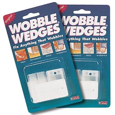 Wobble Wedges Leveling Shims, Set of 12