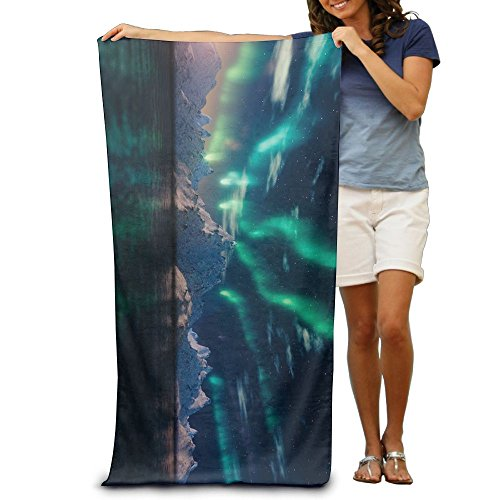 Great Light Solar Flare Large Beach Towel Pool Towel,swim Towels For Bathroom,Gym,and Pool 31 In X51 In by WUTAOO