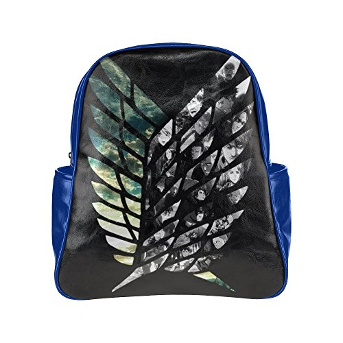 Anime Attack on Titan Backpack Galaxy Book Bag School Bag for Teens