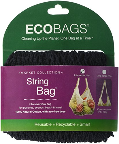 Eco-Bags Products String Tote Handle Natural, Cotton -