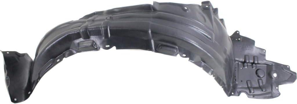 Passenger Side| Replacement For 5380575020 Trim: Base//Premium//Ultra Premium LX1249111 For Lexus HS250h Splash Guard//Fender Liner 2010 2011 2012 Front