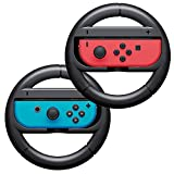 Joy-Con Wheel for Nintendo Switch - YZtree Nintendo Switch Wheel Grip Controller Grips for Nintendo Switch (Set of 2)