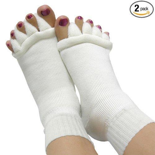asx-design-foot-comfy-toes-alignment-socks-1-pair-l-xl-white