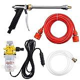 12V 100W Portable High Pressure Electric Washer Wash Pump Set