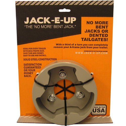Jack-E-Up Gray For Top-Wind Triangle Based Jacks Only (Model Close-Out Sale) by Jack-E-Up