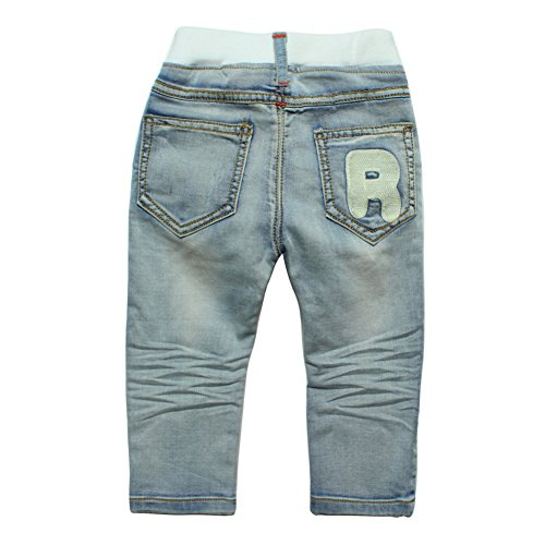 eTree Boys Cotton Do the holes Denim Jeans Patch Pants