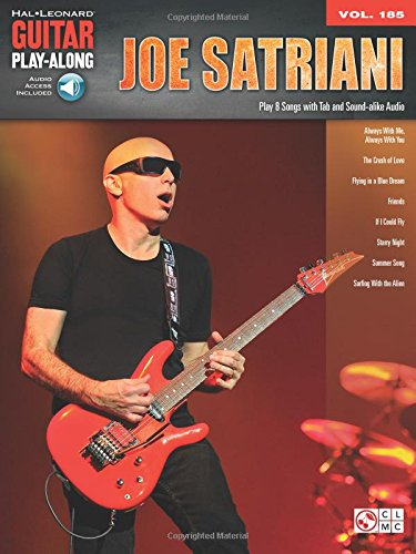 Joe Satriani: Guitar Play-Along Vol. 185 (Satriani Joe Tabs Guitar)