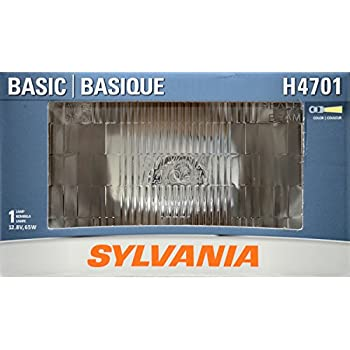 SYLVANIA H4701 Basic Halogen Sealed Beam Headlight 92x150, (Contains 1 Bulb)