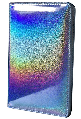 Holographic Glitter Silver Server Book for Waitress Book Server Wallet Waiter Book Cute Bling Waitstaff Organizer Fit Waitress Apron