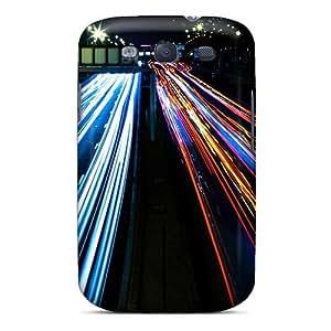 Cute Appearance Cover/JJAxpkf7255fURRU Highway Lights Case For Galaxy S3